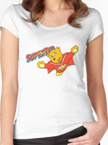 SuperTed! Women's Fitted Scoop T-Shirt