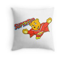 SuperTed! Throw Pillow