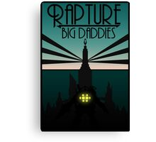 Bioshock Clean Rapture Art Work  Canvas Print
