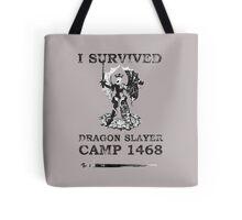 Dragon Slayer Camp 1468 Tote Bag