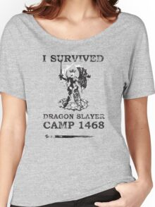 Dragon Slayer Camp 1468 Women's Relaxed Fit T-Shirt