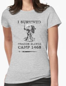 Dragon Slayer Camp 1468 Womens Fitted T-Shirt