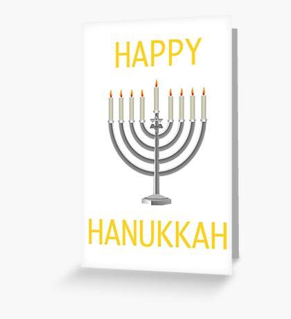 Hanukkah  Greeting Card