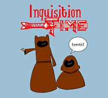 Inquisition Time with Finn and Jake Unisex T-Shirt