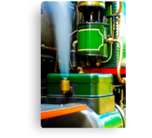 Blowing Off Steam Canvas Print