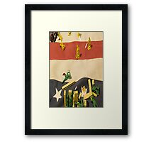 Like Toy Soldiers Framed Print