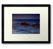 The Irish Sea Framed Print