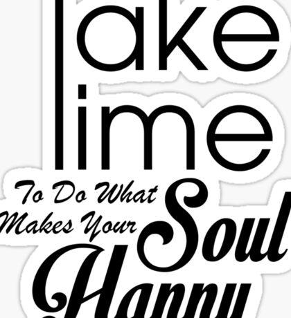 Happy Soul Sticker