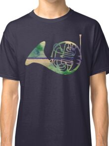 Watercolor French Horn Classic T-Shirt