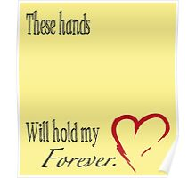Ready to Create Canvas Handprint Gift Poster