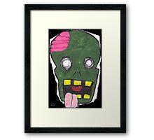 Zombie uuugggh.... Framed Print