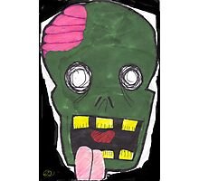 Zombie uuugggh.... Photographic Print