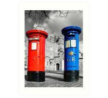 Snail Mail, Royal Windsor Art Print