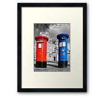 Snail Mail, Royal Windsor Framed Print
