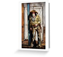 Howdy Greeting Card
