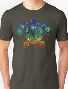 Inked Sea Turtle Unisex T-Shirt