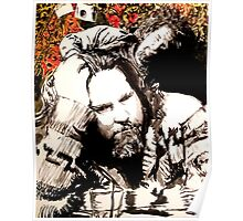 The Dude and his rug Poster
