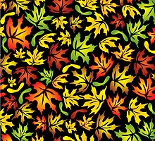 maple leaves by VioDeSign