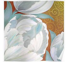 CHRISTY'S TULIPS Poster