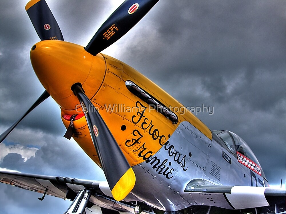 Ferocious Frankie - Flightline Duxford - 2014 - HDR by Colin  Williams Photography
