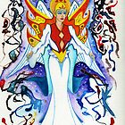 ANKHIALE ~ Goddess of Fire by James Peele