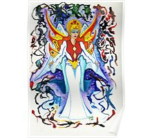 ANKHIALE ~ Goddess of Fire Poster