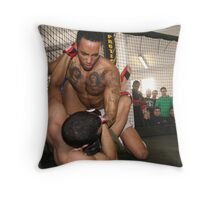 The Cage Fight Throw Pillow