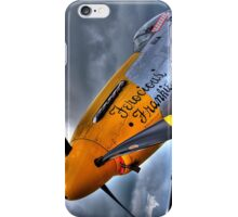 Ferocious Frankie - Flightline Duxford - 2014 - HDR iPhone Case/Skin