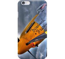 Ferocious Frankie - Flightline Duxford - 2014 - HDR iPhone Case/Skin