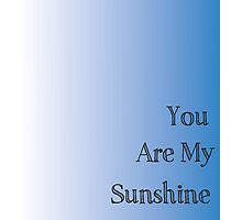 You are my Sunshine Handprint Gift Photographic Print