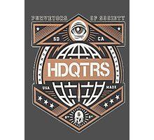 HDQTRS Photographic Print