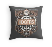 HDQTRS Throw Pillow
