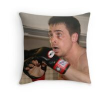 Ready for the fight Throw Pillow