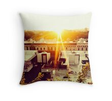Brooklyn Rooftop Throw Pillow