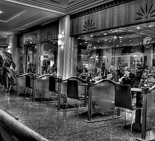 Cafe Culture in Mono by Dave Warren