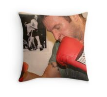 Bag work Throw Pillow