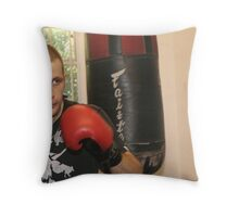 Boxer I Throw Pillow
