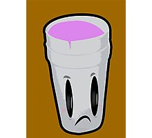 Double Cup Sad Photographic Print