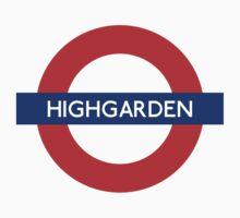 Highgarden Underground by Heidi Cox