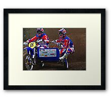 UK Nationals 2007. Framed Print