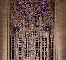 Sanctuary Reredos, Our Lady of Hope, Philadelphia by PhillyChurches
