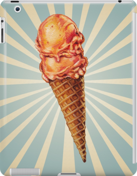 Strawberry Double Scoop by Kelly  Gilleran