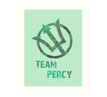 Team Percy Art Print