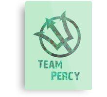 Team Percy Metal Print