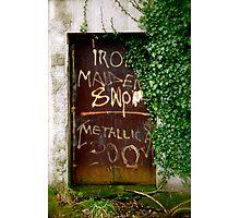Irish Graffiti!!! Photographic Print