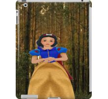 snow white in the woods iPad Case/Skin