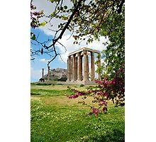 Columns Of The Olympian Zeus Photographic Print