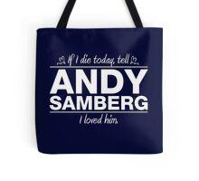 Andy Samberg - If I Die Series (Variant) Tote Bag