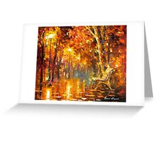 Time Never Ends — Buy Now Link - www.etsy.com/listing/215149041 Greeting Card