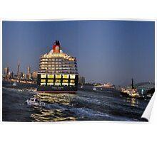 Wide Berth - Queen Victoria , Sydney Harbour, Sydney Harbour Poster
